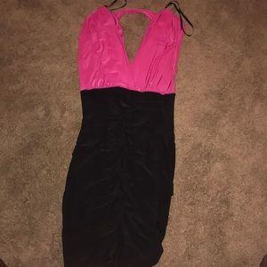 A tight fit dress